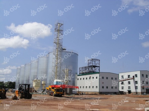 100tpd soybean oil mill plant in zambia