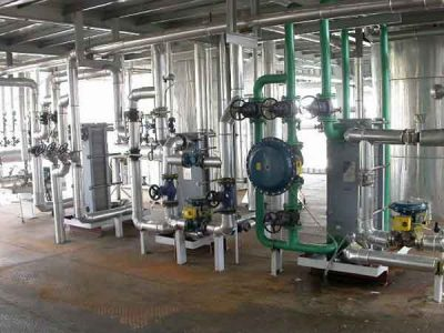 50TPD edible oil refining machine