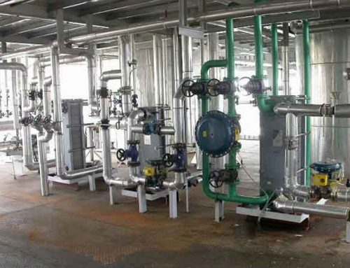 Introduction of oil refining process