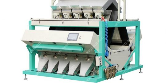 color sorting machine for grain processing
