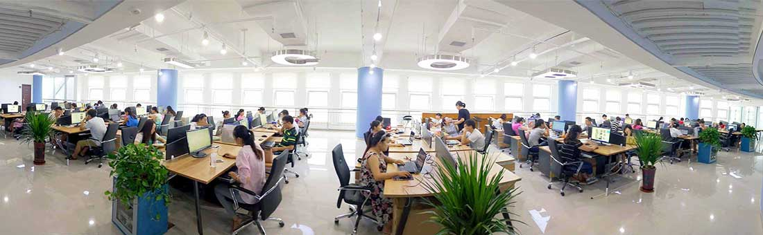 comfortable office environment of AGICO