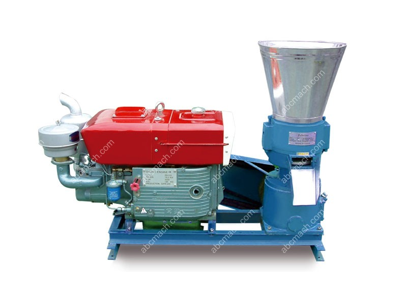 diesel engine small pellet press