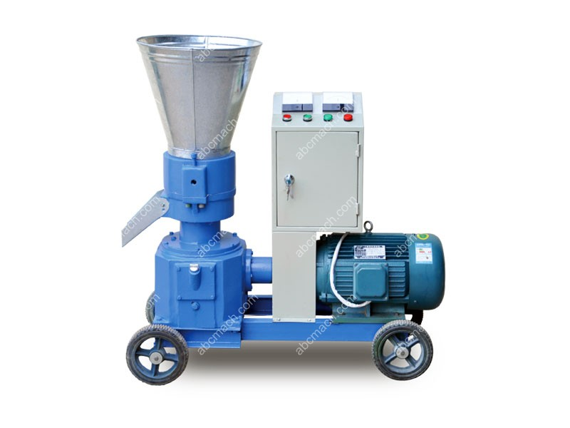 electric engine pellet mill