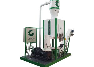 mobile pellet plant made from GEMCO