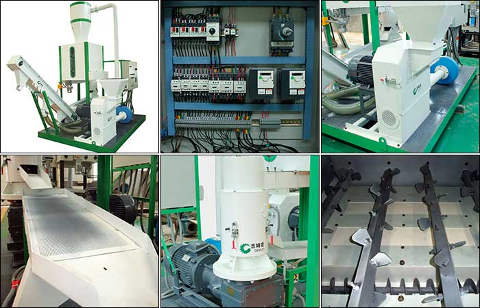 mobile pellet plant and spare parts