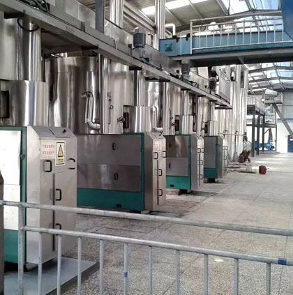 complete oil milling plant from AGICO