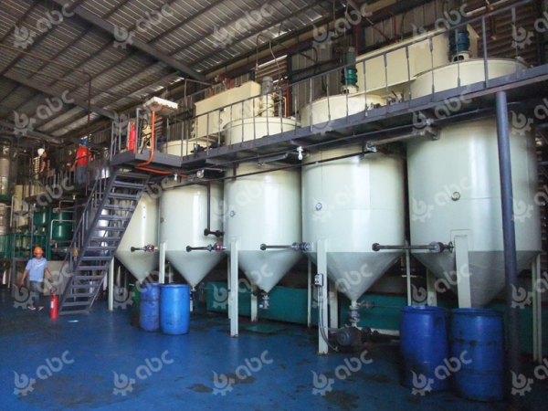 Coconut oil mill plant in Philippines