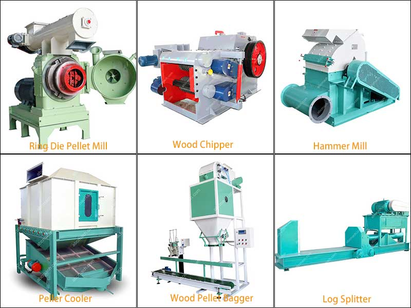 ring die pellet mill and other equipments for complete pellet plant