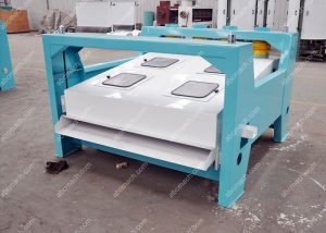 rotary screen machine for grain processing preatment