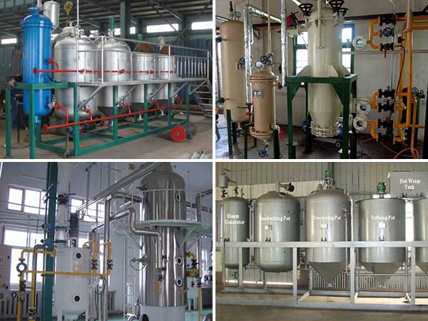 workshop of oil refining plant