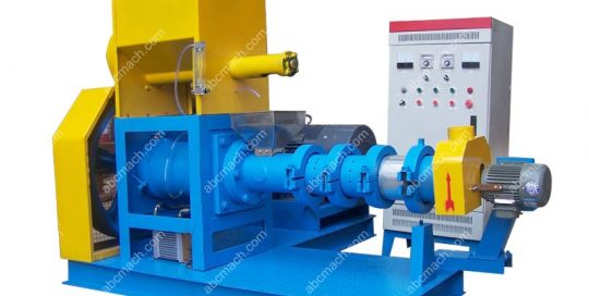 soybean extruder in oil milling process