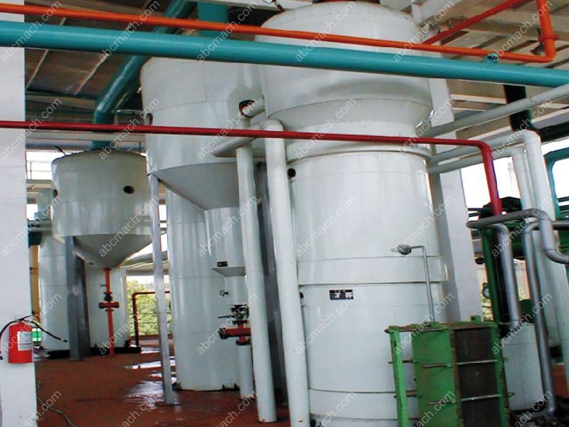 evaporator type for oil refining