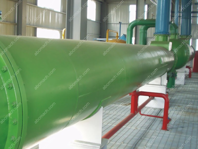 horizontal tubular condenser