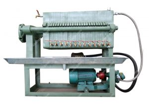 oil plate and frame filter press
