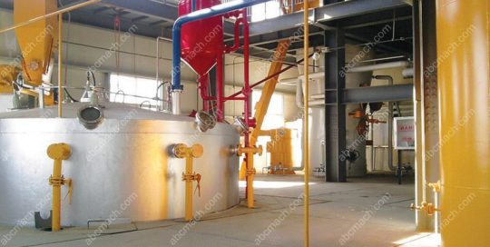 rotary oil extractor
