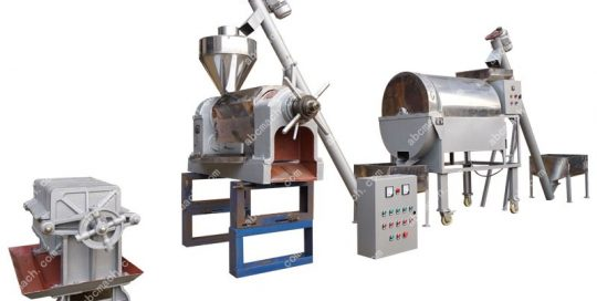 small edible oil production line