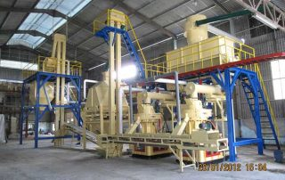 complete pellet production